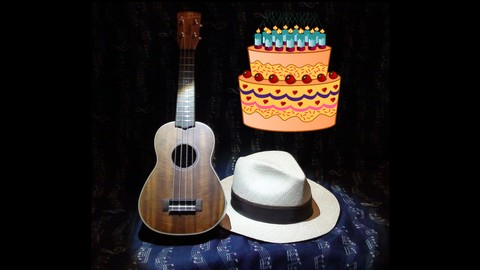 Beginner's Ukulele - Happy Birthday - A Festive Serenade!